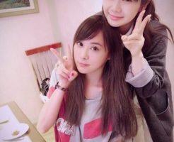 江宏傑の姉と福原愛1