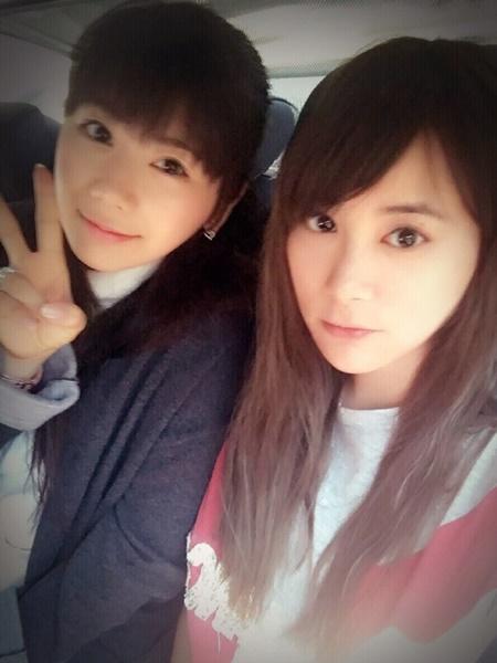 江宏傑の姉と福原愛2
