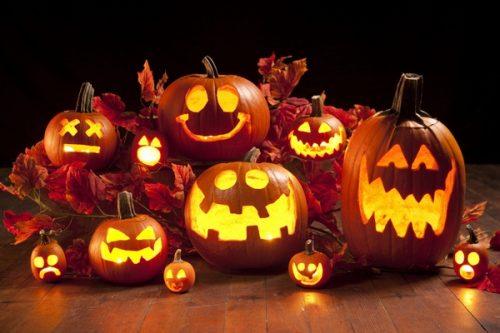 ハロウィンのかぼちゃランタン