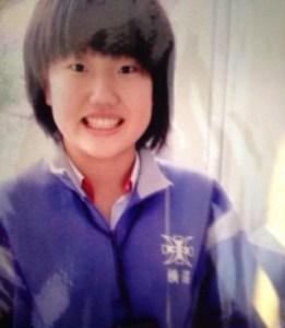横澤夏子の中学生時代