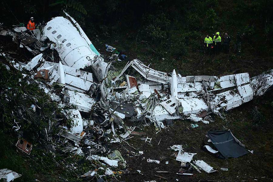 シャペコエンセ選手らの飛行機事故の生存者は?事故の原因や搭乗者
