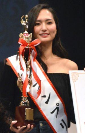 山賀琴子がミスオブミスのグランプリ受賞