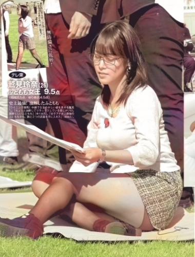 鷲見玲奈のフライデーカラー版