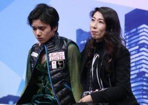 宇野昌磨とコーチ1