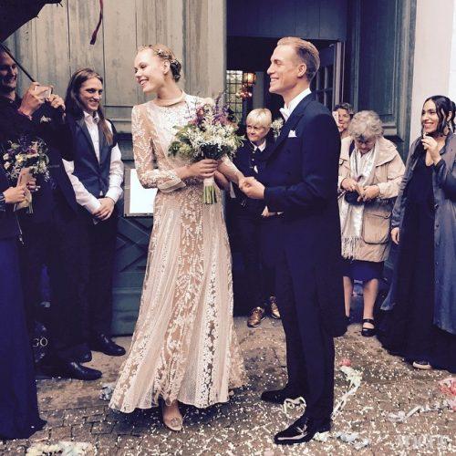 フリーダ・グスタフソン結婚式