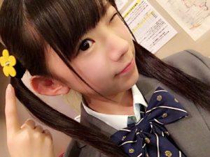 長澤茉里奈中学生