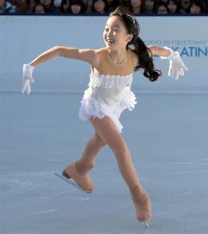 本田望結・スケート