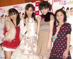 真野恵里菜Pocky 4 Sisters