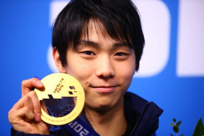 羽生結弦ソチオリンピック金メダル