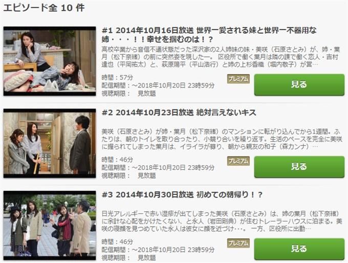 ディアシスター ドラマ動画無料視聴