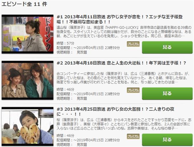 ラスト・シンデレラ ドラマ動画無料視聴