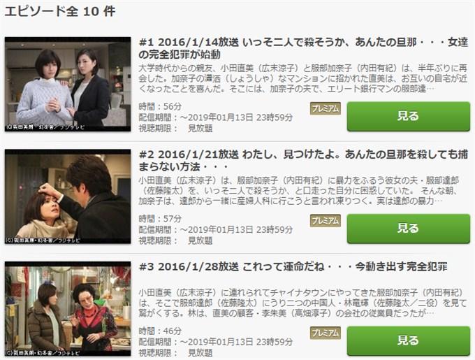 ナオミとカナコ ドラマ動画無料視聴