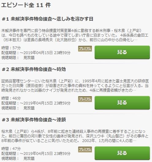 絶対零度1~未解決事件特命捜査~ 動画無料視聴