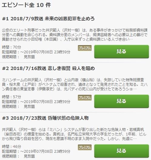 絶対零度3~未然犯罪潜入捜査~ 動画無料視聴