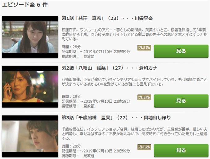 感情8号線 ドラマ動画視聴